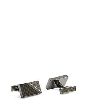 Ted Baker Carbon Fiber Textured Cufflinks