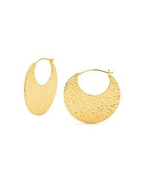 Gorjana Rae Profile Hoop Earrings