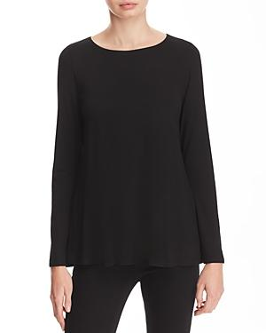 Eileen Fisher Petites Boatneck Swing Top