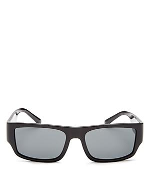 Versace Men's Rectangle Sunglasses, 56mm
