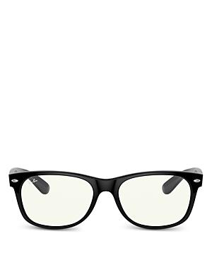 Ray-ban Unisex Square Blue Light Glasses, 57.7mm