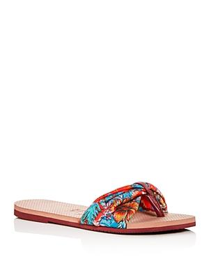 Havaianas Women's You Saint Tropez Floral Thong Sandals