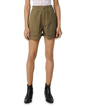 Maje Idole Mini Utility-inspired Shorts