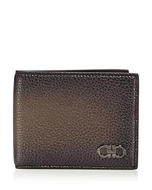 Salvatore Ferragamo Firenze Glow Pebbled Leather Wallet