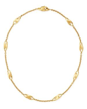 Marco Bicego 18k Yellow Gold Legami Short Station Necklace, 18