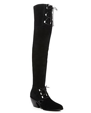 Opening Ceremony Arielle Suede Over-the-knee Boots