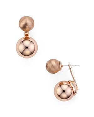Rebecca Minkoff Sphere Front-back Earrings