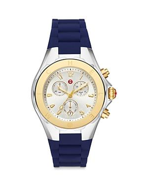 Michele Jellybean 18k Yellow Gold Chronograph, 38mm (39% Off) Comparable Value $445