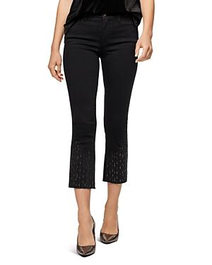 Sanctuary High-rise Cropped Skinny Jeans In Raven