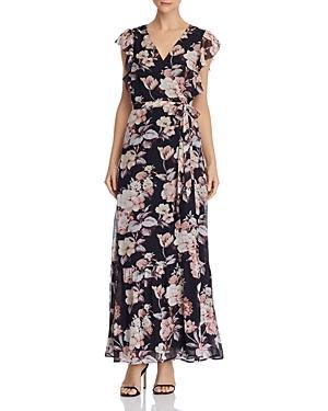 Paige Maquel Silk Floral Wrap Dress