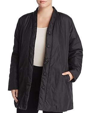 Eileen Fisher Plus Reversible Kimono Jacket - 100% Exclusive