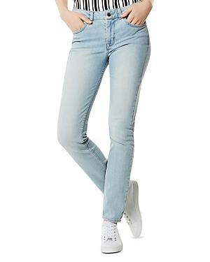 Karen Millen High-rise Skinny Jeans In Pale Denim