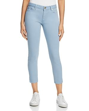 Michael Michael Kors Izzy Ankle Skinny Jeans In Chambray