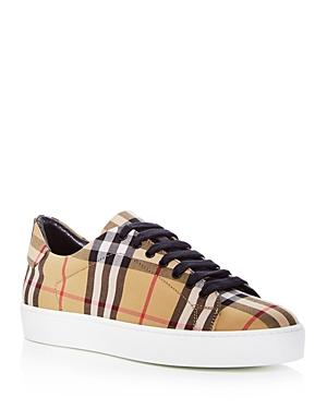 Burberry Women's Westford Vintage Check Lace Up Sneakers