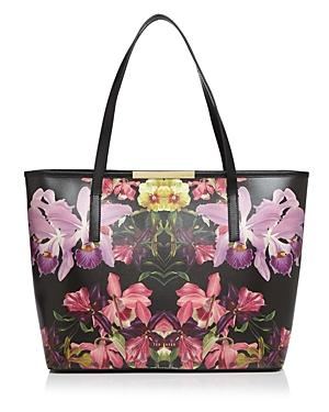 Ted Baker Denny Lost Gardens Leather Tote