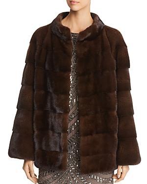Maximilian Furs Short Mink Fur Coat- 100% Exclusive