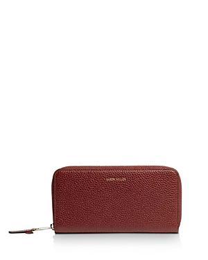 Karen Millen Medium Leather Zip-around Wallet
