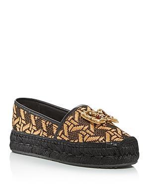 Dolce & Gabbana Women's Woven Espadrille Flats