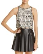 Walter Baker Charlotte Beaded Tank Top - Compare At $198