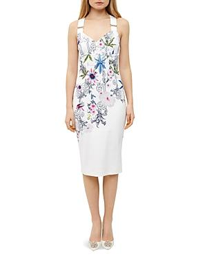 Ted Baker Passion Flower Sheath Dress