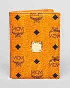 Mcm Heritage Passport Holder