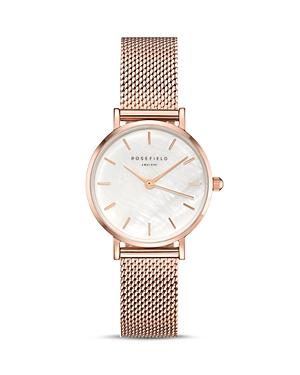 Rosefield The Small Edit Mother-of-pearl Dial Watch, 26mm