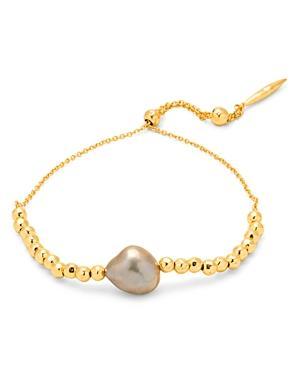 Gorjana Vienna Cultured Freshwater Pearl Slider Bracelet