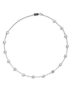 Ippolita Sterling Silver Lollipop Mother Of Pearl Station Necklace, 16