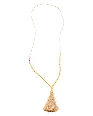 Gorjana Tulum Tassel Necklace, 20