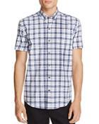 Wrk Plaid Slim Fit Button-down Shirt