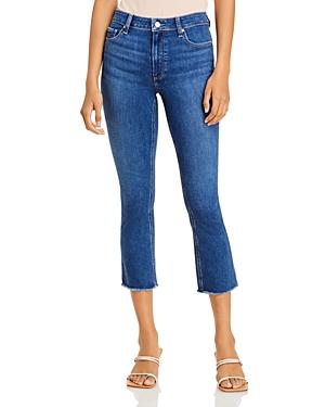 Paige Colette Cropped Flare Jeans In Mambo