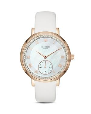 Kate Spade New York Leather Monterey Watch, 38mm