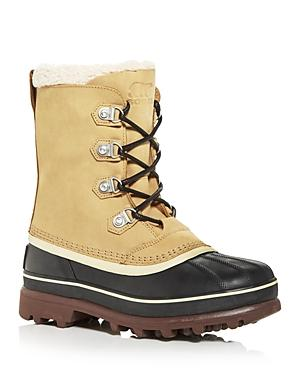 Sorel Men's Caribou Stack Waterproof Cold Weather Boots