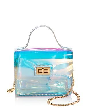 Aqua Medium Turn-lock Shoulder Bag - 100% Exclusive