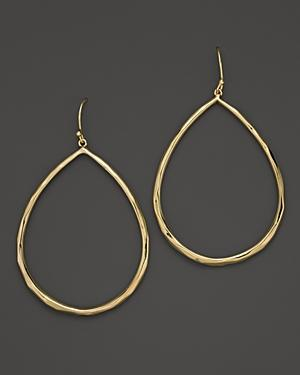 Ippolita 18k Yellow Gold Glamazon Faceted Large Teardrop Earrings