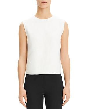 Theory Cropped Sleeveless Top