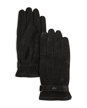 Barbour Wilkin Fleece Lined Leather Gloves