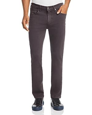Paige Federal Slim Straight Fit Jeans In Vintage Gray Hawk