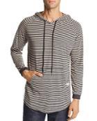 Kinetix Milestone Striped Hooded Tee
