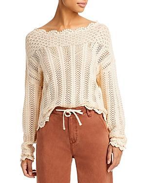 Paige Kuzuyu Cotton Sweater