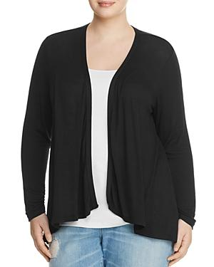 B Collection By Bobeau Curvy Drake Drape Front Cardigan