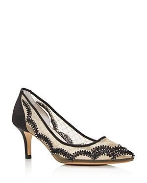 Bella Belle Women's Nicole Embellished Mid-heel Pumps