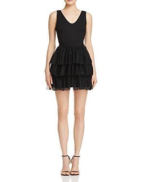 Aqua Tulle Dress