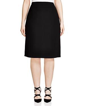 Basler Plus Pencil Skirt