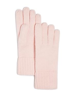 C By Bloomingdale's Cashmere Ribbed Gloves - 100% Exclusive