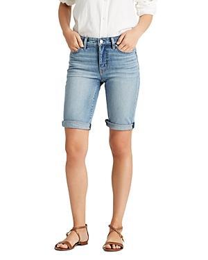 Lauren Ralph Lauren Cuffed Denim Shorts