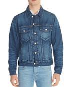 Sandro America Washed Denim Jacket