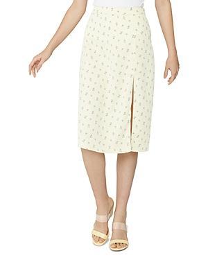 Bcbgeneration Dainty Ditsy Midi Skirt