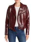Parker Cooper Faux-leather Moto Jacket