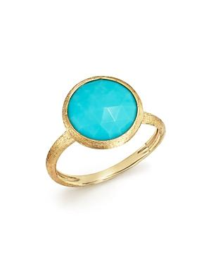Marco Bicego 18k Yellow Gold Jaipur Ring With Turquoise - 100% Exclusive